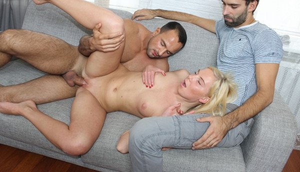 Sell-Your-GF-Hot Blonde